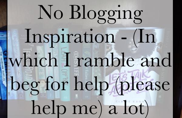 No blogging inspiration?