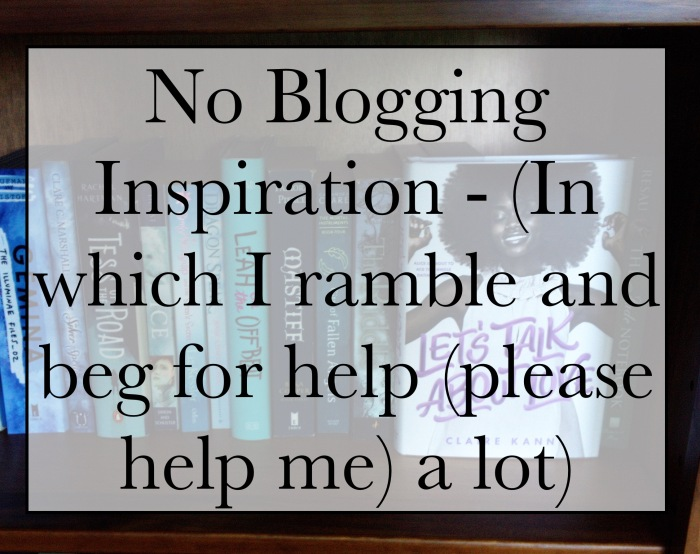 No blogging inspiration?