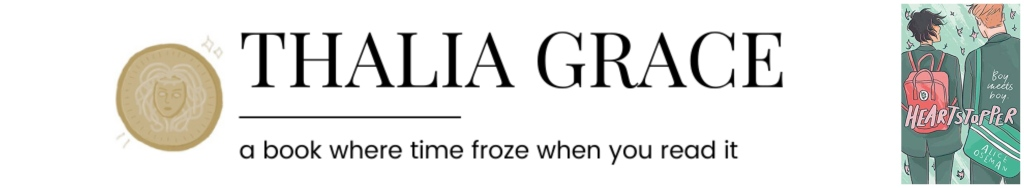 Thalia Grace || a book where time froze when you read it