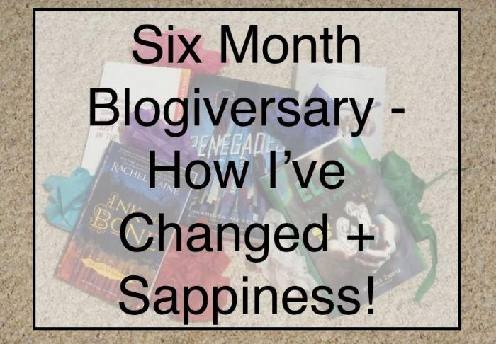 Six Month Blogiversary