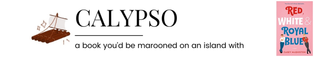 Calypso || a book you'd be marooned on an island with